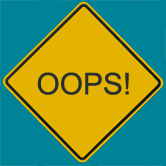 Image of an Error Sign